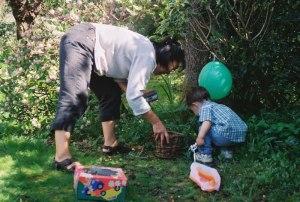 Matthew finds his eggs